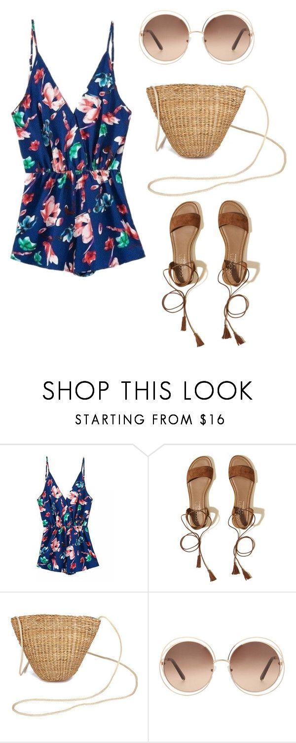 Summer rompers #6 by impavidgirl on Polyvore featuring Hollister Co. and Chloé