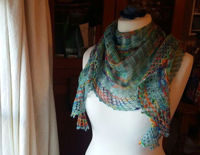 One and Done shawl by Casapinka on RAVELRY