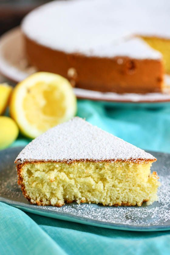 lemon olive oil cake - easy and relatively few ingredients (mostly just need to make sure you have eggs, good EVOO, and lemons)