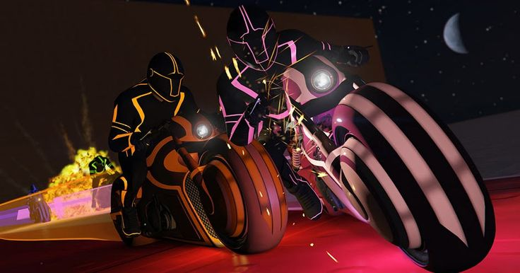 """Get On GTA Online's Grid With The Latest """"Tron"""" Spoof DLC #Games #GTA"""