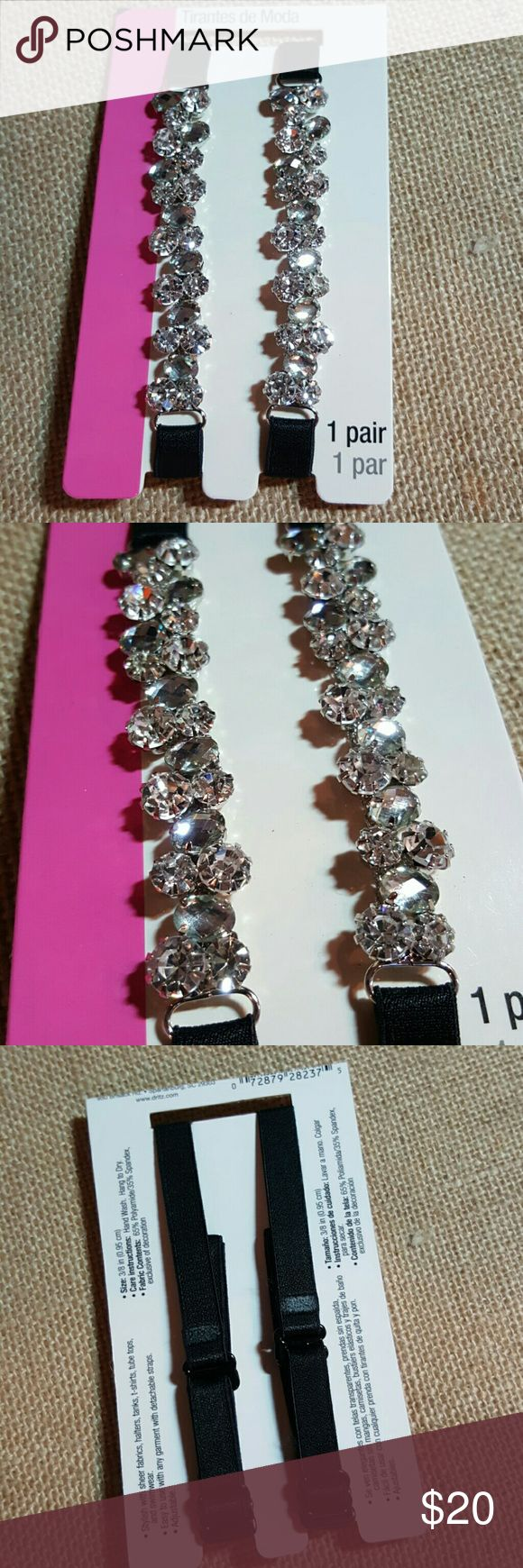 Diamond bra straps This is so beautiful. Use instead of regular  bra straps that are going to show. Accessories