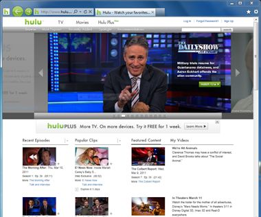 Love Hulu? Pin it to your Windows 7 taskbar today. Learn how in the Internet Explorer Gallery. http://www.iegallery.com