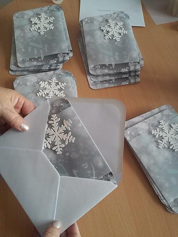 Winter Wedding Ice Queen Invitation. by InvitatiiCouture on Etsy