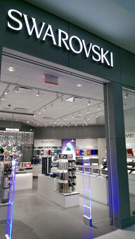 Visit our gorgeous new @swarovski store!