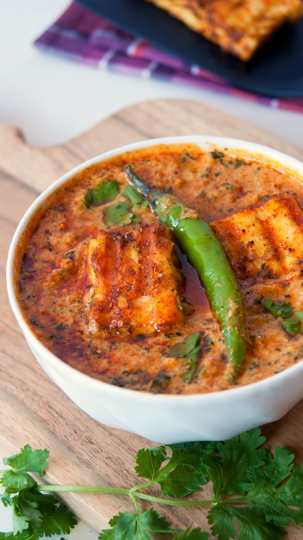 Always Hungry: Grilled Tandoori Paneer in creamy Sauce