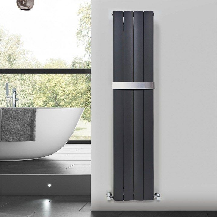 If A Radiator Can Look That Good Next To A Luxurious Freestanding Bath It Must Be Utter Perfection Take The Phoenix Zion Vertical Radiators Design Radiators