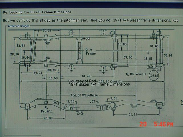 name: frame-specs-blazer-1971-4wd.jpg views: 374 size: 51 ... 91 blazer s10 frame diagram 91 chevy s10 wiring diagram