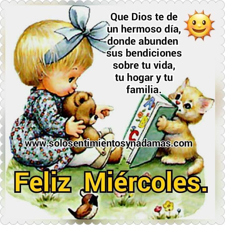 Que Dios te de un hermoso día,  donde abunden sus bendiciones sobre tu vida, tu hogar y tu familia.