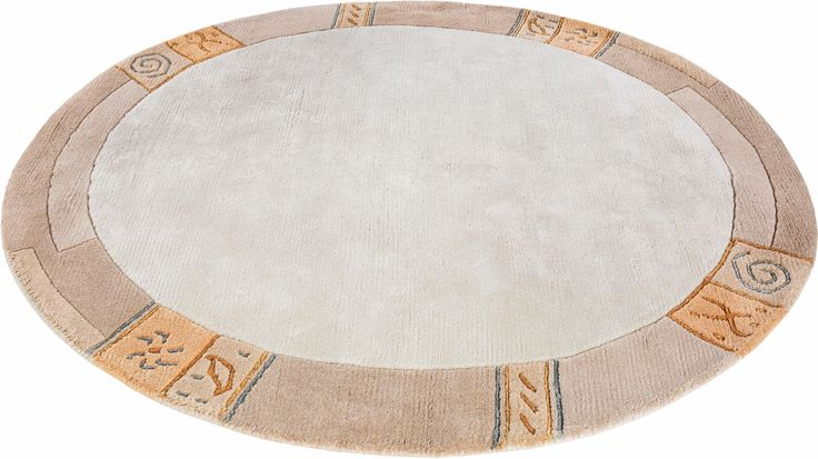 Läufer beige, Ø 200cm, 20mm, »India«, Luxor living Jetzt bestellen unter: https://moebel.ladendirekt.de/heimtextilien/teppiche/laeufer/?uid=bfa0a88f-5051-5f68-9404-9b801806c2da&utm_source=pinterest&utm_medium=pin&utm_campaign=boards #laeufer #heimtextilien #teppiche