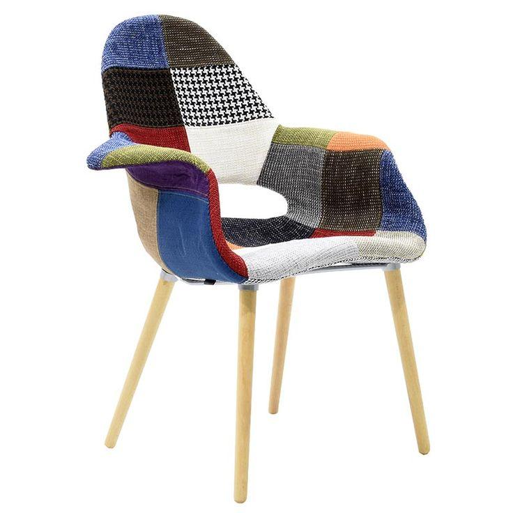 Propylene fabric armchair pachwork