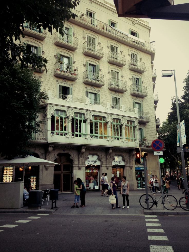 This was my second apartment on the street Gran Via