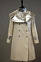 John Bates Futuristic White and Silver Coat, 1965. From the Marit Allen Collection