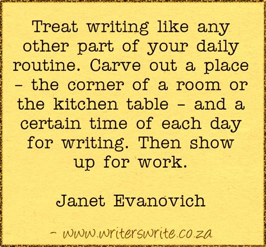 Quotable – Janet Evanovich – Writers Write