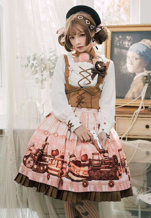The Frilly Teacup - lolita-wardrobe:   New Release: 【-Tank Rabbits...