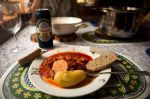 Portuguese Bacalao – a traditional cod stew. - Svolvær, Nordland, Lofoten, Norway #HattvikaLodge