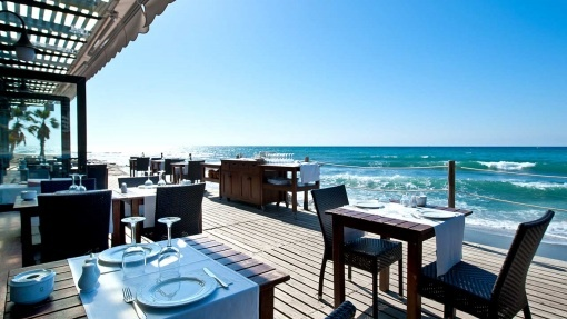 Beach Club at Fuerte Hotel Marbella - Available for exclusive use for Weddings on the beach