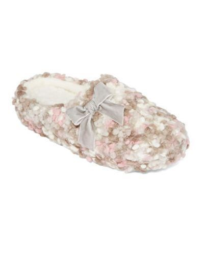 19.98$  Buy here - http://viumy.justgood.pw/vig/item.php?t=fedd48x32818 - Clog Slippers Plush Oatmeal Popcorn Indoor/Outdoor INC Size XL 11/12 $34 - New