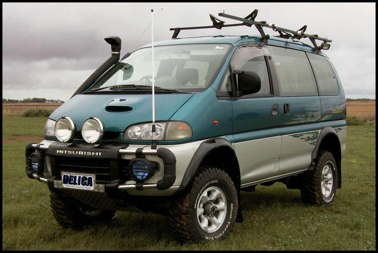 Mitsubishi Off Road Van   Vans RVs and Campers   Pinterest ...