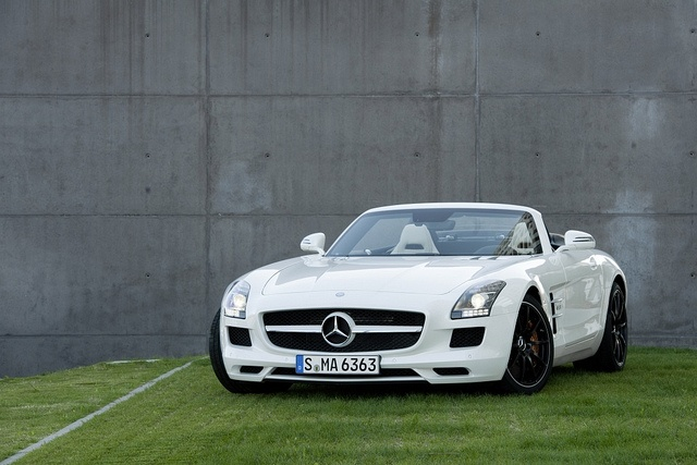Mercedes SLS AMG Roadster. Is it possible to be sexually attracted to a car?
