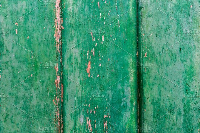 Old green wooden background by Fotoeventis on @creativemarket