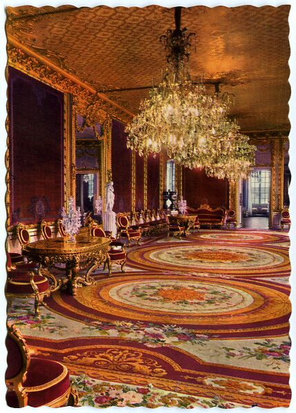 Sweden Stockholm Royal Palace Interior Victoria Grand