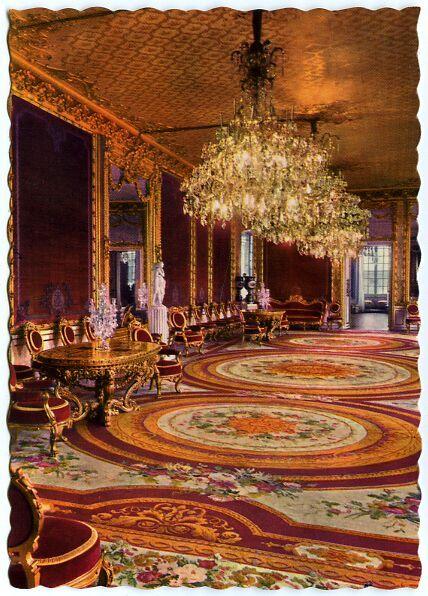 Sweden:Stockholm, Royal palace interior, Victoria