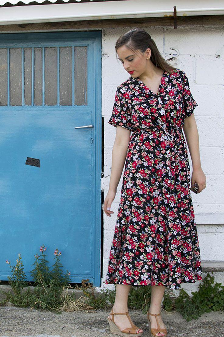 Making the Named Patterns Reeta Midi Dress