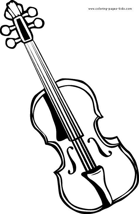 coloring pages violin - 1267 best images about primary arts classroom on pinterest