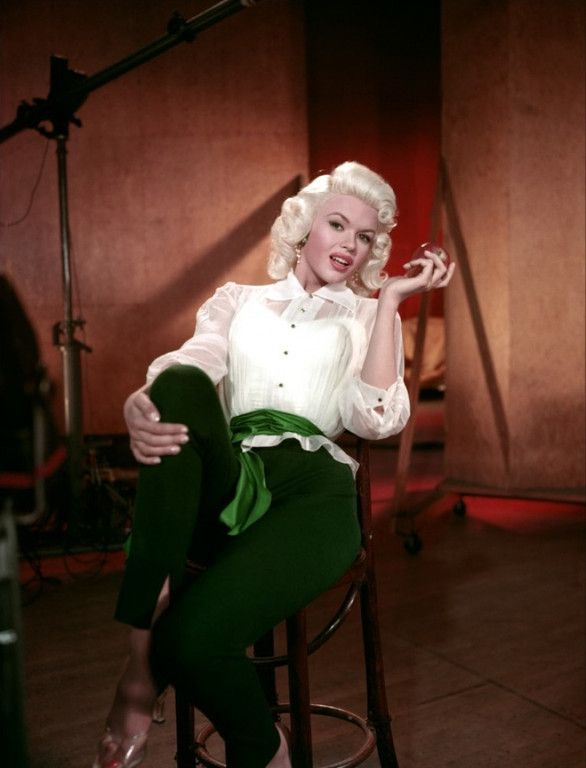 "Jayne Mansfield in ""The Girl Can't Help It ""1956"""