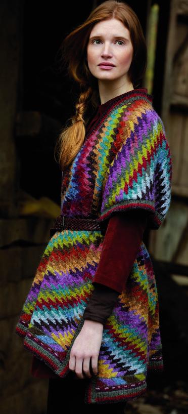 Kaffe Fassett Kilim Wrap kit - Got Yarn! Got Kits! Get Knitting!