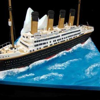 The Titanic cake | Yelp