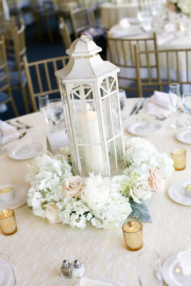 Amazing Lantern Wedding Centerpiece Ideas ❤ See more: http://www.weddingforward.com/lantern-wedding-centerpiece-ideas/ #weddings
