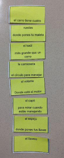 ¡Víbora!: snake game (vocab, verb conjugations, adjective agreement)