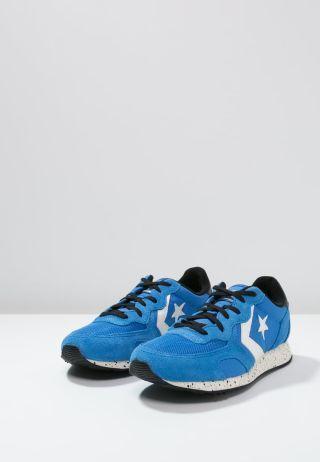 Adidasi Converse dama piele intoarsa albastri