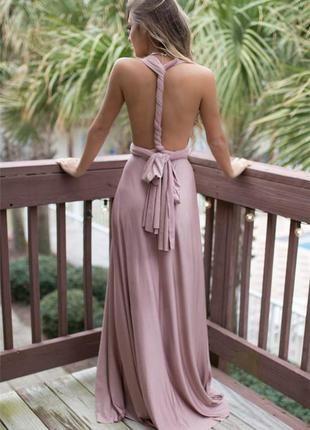 7-9/1 шикарное женское платье / длинное платье / платье в пол / вечернее платье