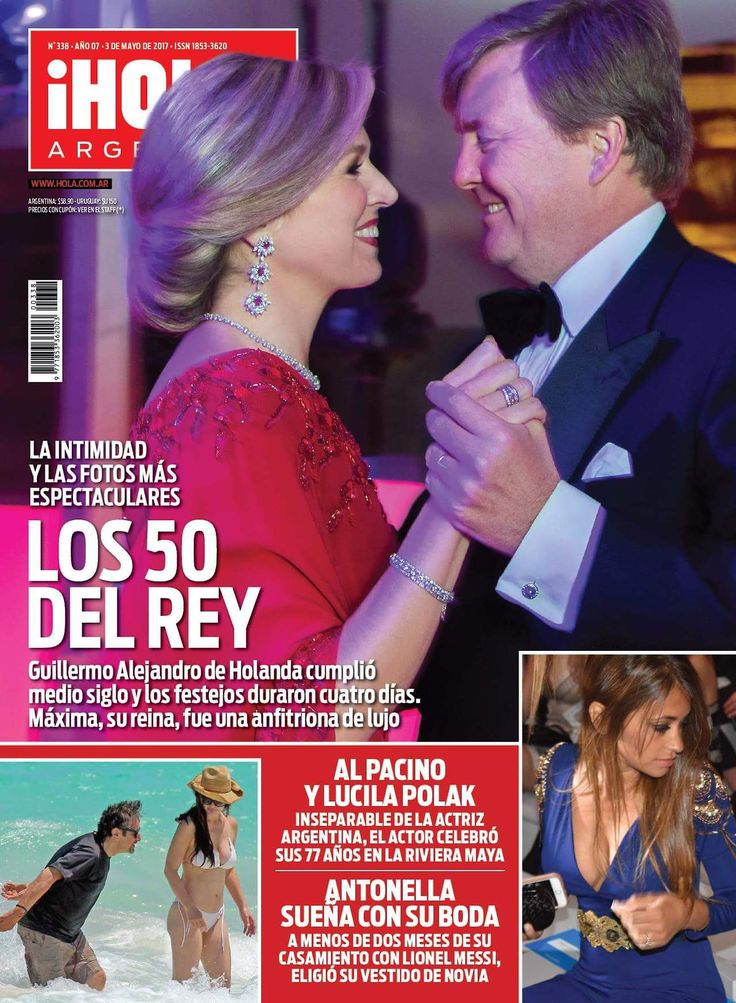 """victorysp:  """"Hola Argentina this week.  I love this cover!!!!  """""""