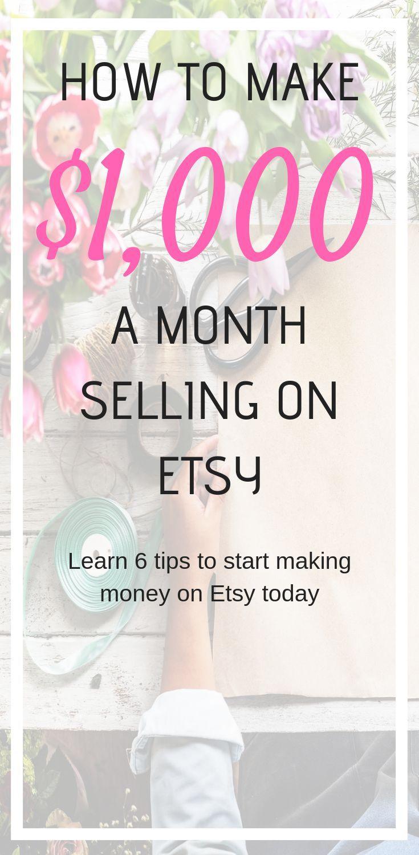 How To Make Money On Etsy Make Money On Internet Making Money On Etsy Making Money On Youtube