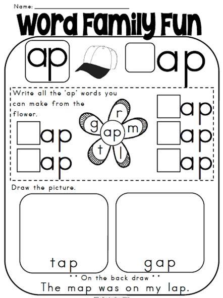 Un Words Worksheet : Un word family worksheets kindergarten picture find