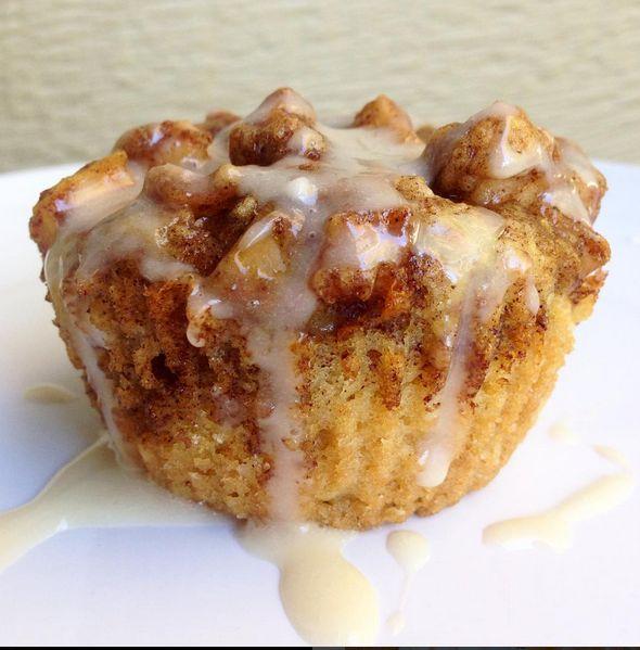 Vegan Apple Fritter Muffins