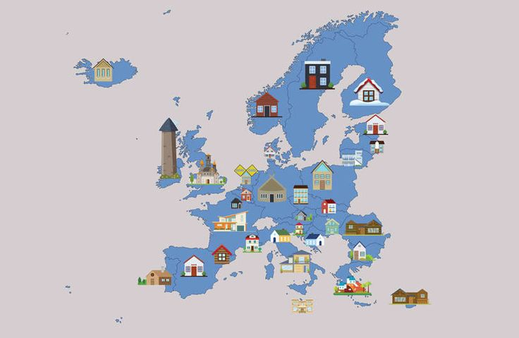 The Most Popular Airbnb in Every European Country | VIVA Lifestyle & Travel