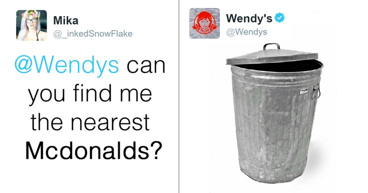 Wendy's Is Roasting People On Twitter, And It's Just Too Funny | Bored Panda