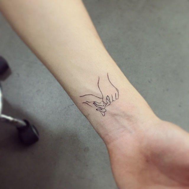 Картинки по запросу тату тонкие линии на руку женские