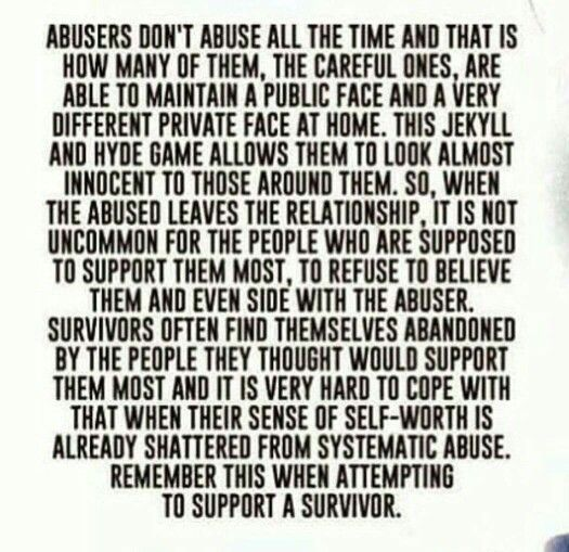 systemic abuse is often not seen by others the abused often not believed narcissistic abuse, emotional, psychological, financial, mental warfare