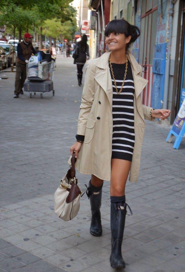 Looks con botas Hunter o de lluvia para empezar la semana | Cuidar de tu belleza es facilisimo.com