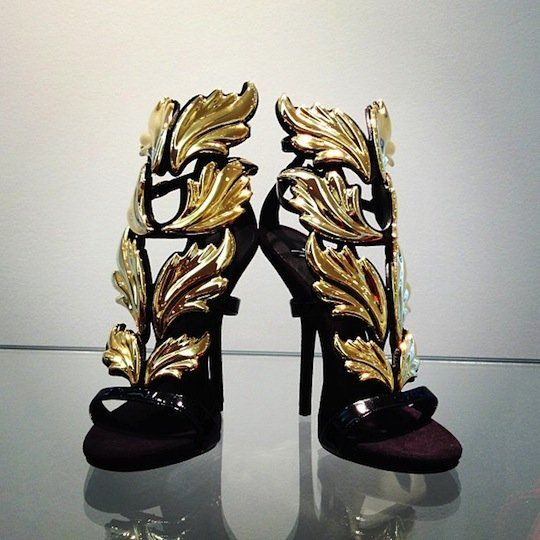 "Giuseppe Zanotti and Kanye West Release New Black & Gold Edition of the ""Cruel Summer"" Heels"