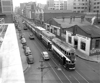 Old JHB trams that were disbanded in 1961