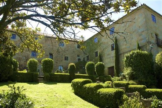 Pazo de Bentraces in Orense, Spain
