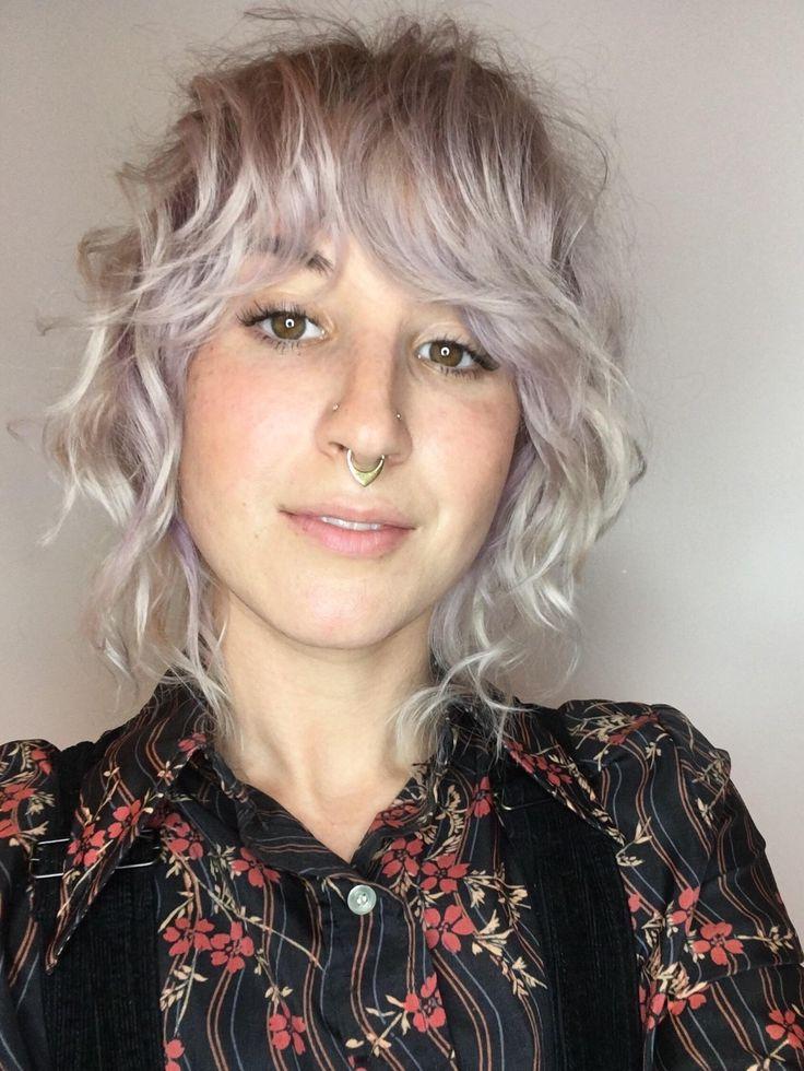 Fall blonde hair