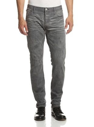 57% OFF Rogue Men's Cement Wash Slim Straight Jean (Grey)