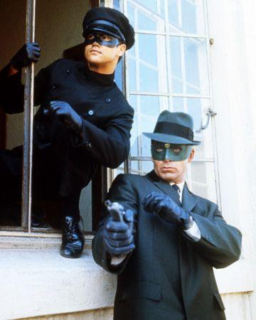 The Green Hornet TV series - Van Williams as The Green Hornet & Bruce Lee as Kato (circa 1960s')